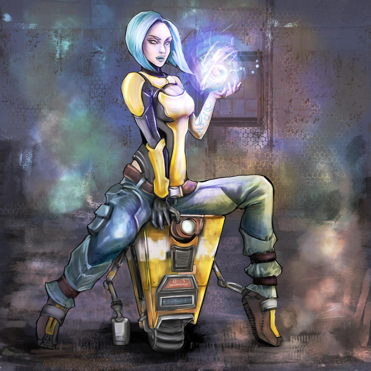 borderlands 2d by Milish on DeviantArt