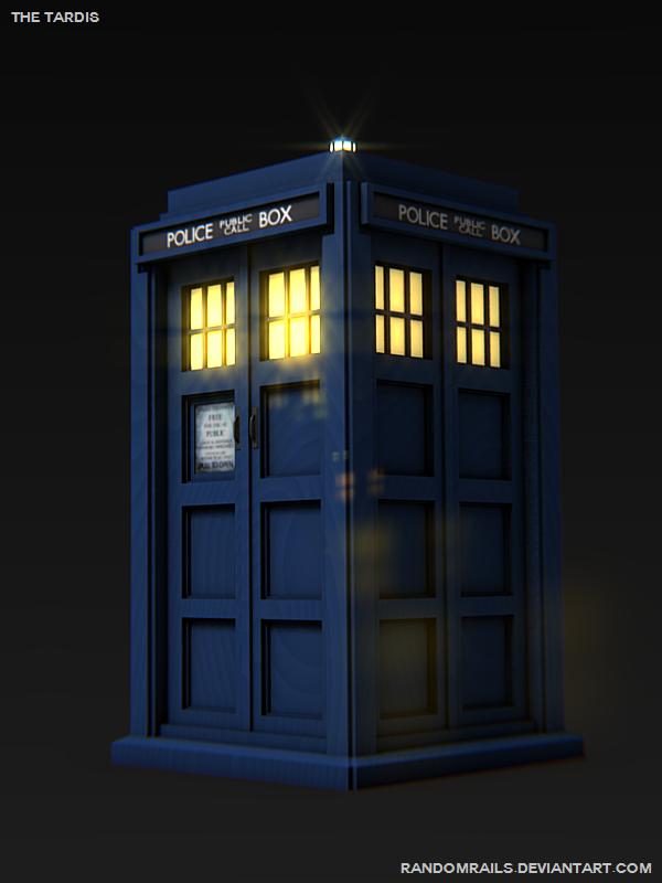 The TARDIS by RandomRails