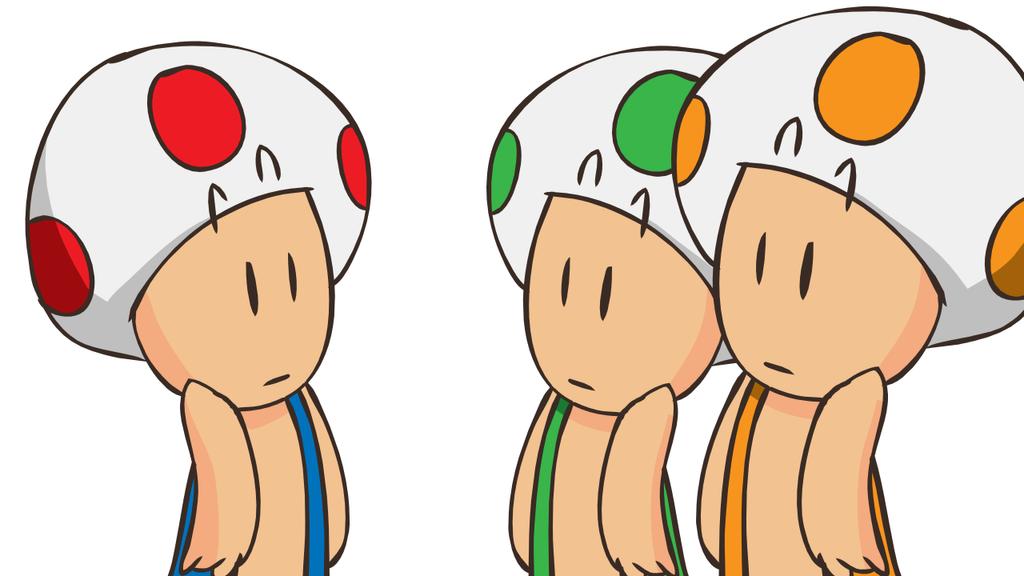 Toads by RandomRails