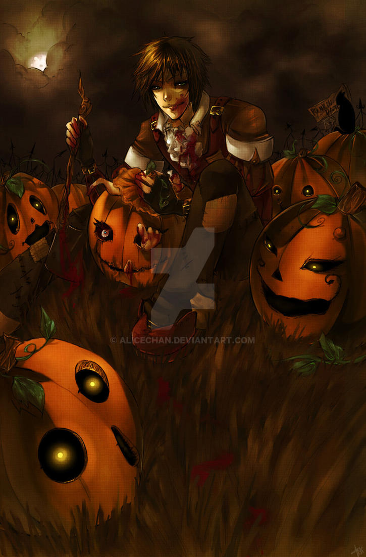 Peter Peter pumpkin eater by Alicechan