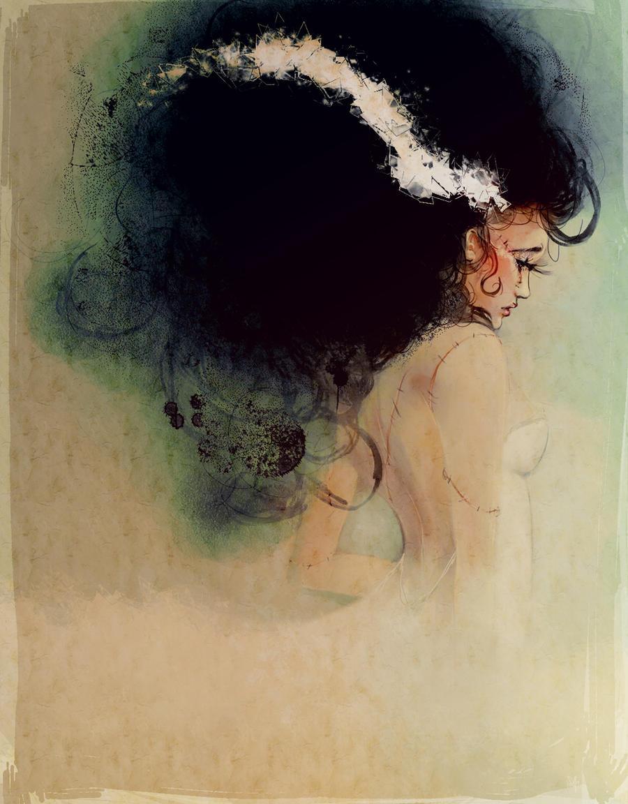 bride of frankenstein by Alicechan