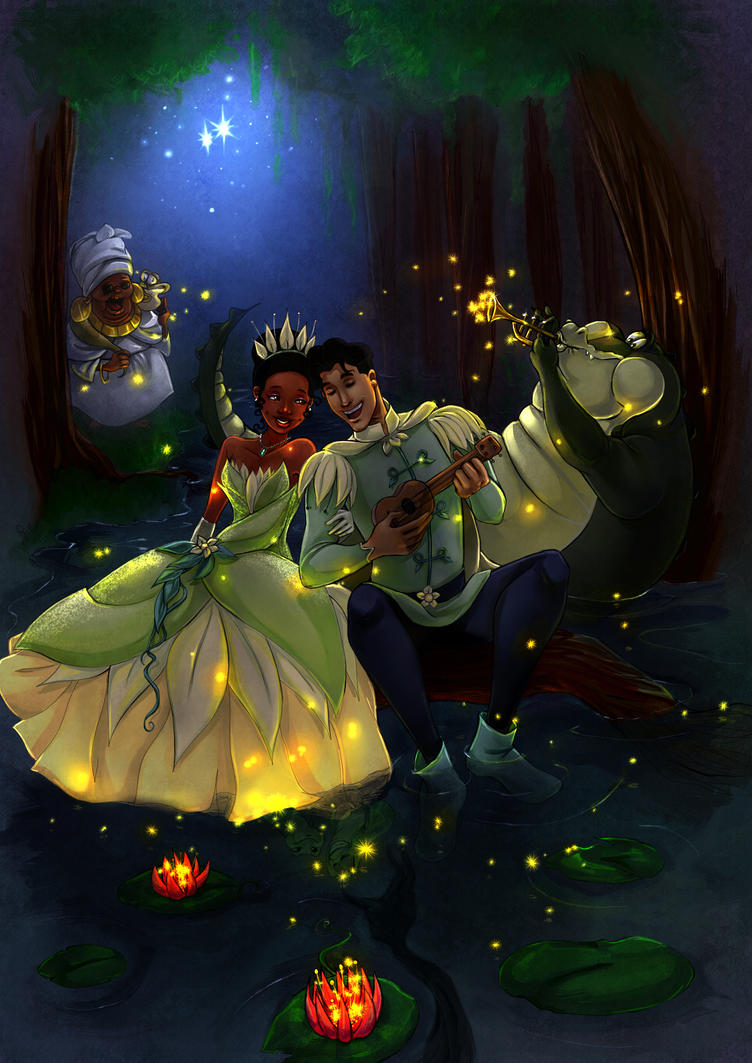 Princess And The Frog Dig A Little Deeper