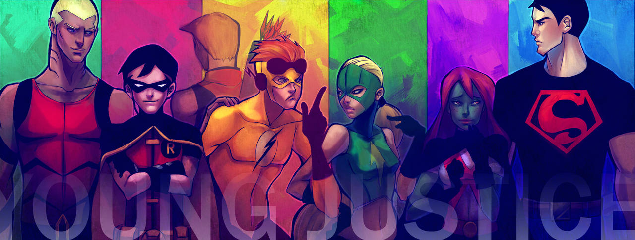 Young Justice by Alicechan