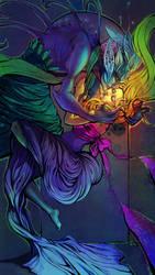 Cosmic Love by Alicechan