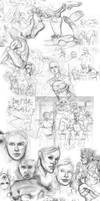 sketches of 2010-2011 by Alicechan