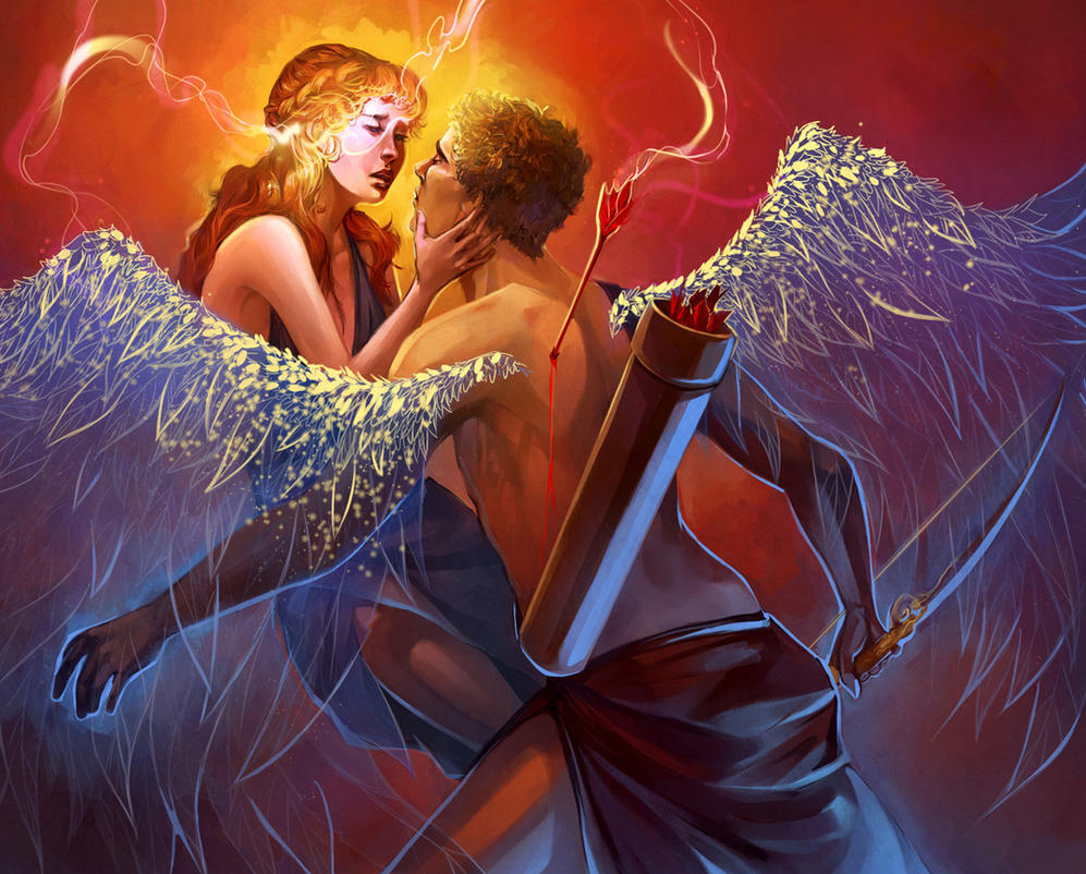 Cupid and Psyche by Alicechan on DeviantArt