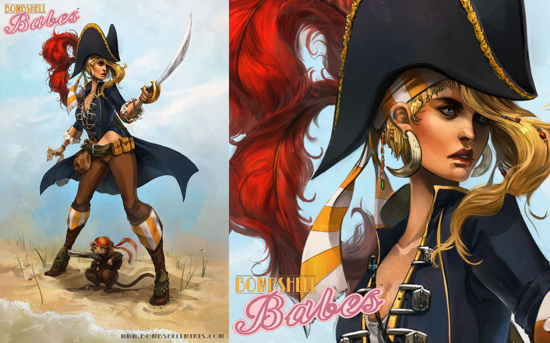 Meagan The Buccaneer by Alicechan