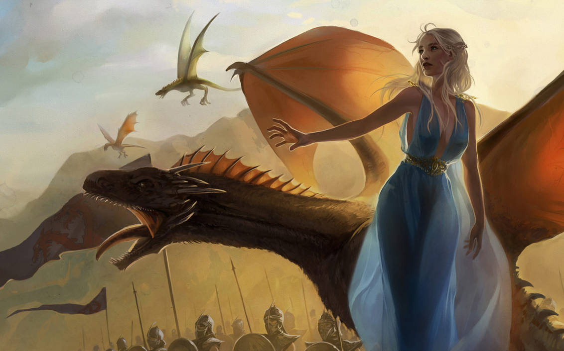 Mother of Dragons by Alicechan