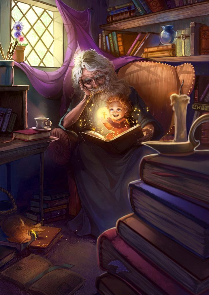 The Magician's Apprentice by Alicechan