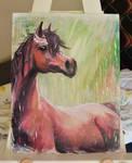 Acrylic Horse