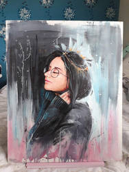 Acrylic Painting by Pegaite