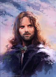 Aragorn - LOTR by Pegaite