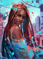 Turquoise by Pegaite