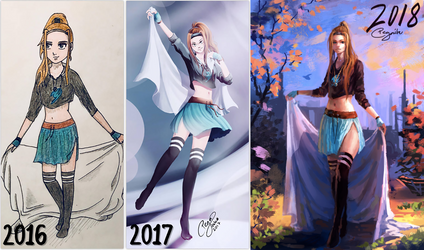 Redraw 2018 by Pegaite