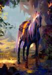 Horse On The Run