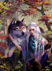 COMM - Alyosha and Kieran by Pegaite
