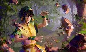 Toph Beifong by Pegaite
