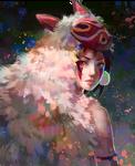 Mononoke Hime - fan art
