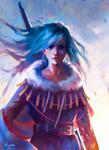 Blue Spirit Fighter - redraw