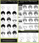 Manga Research Journal: All About Hair Compilation