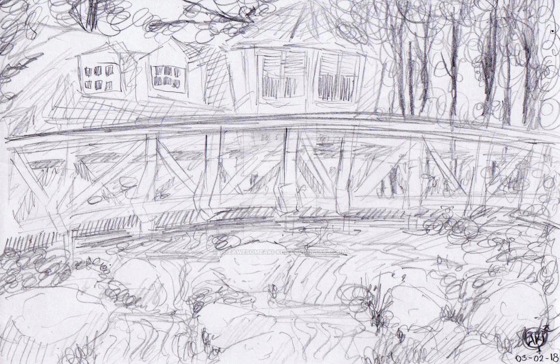Background pencil sketch 1 by theawesomeaki kun
