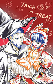 FEH Favorites: Halloween Hector and Lilina