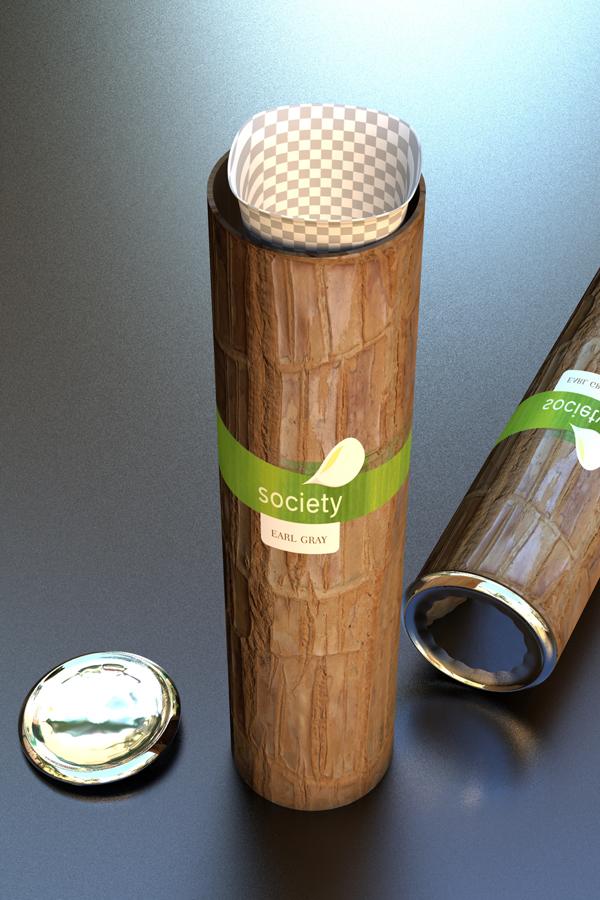 3D Tea package design