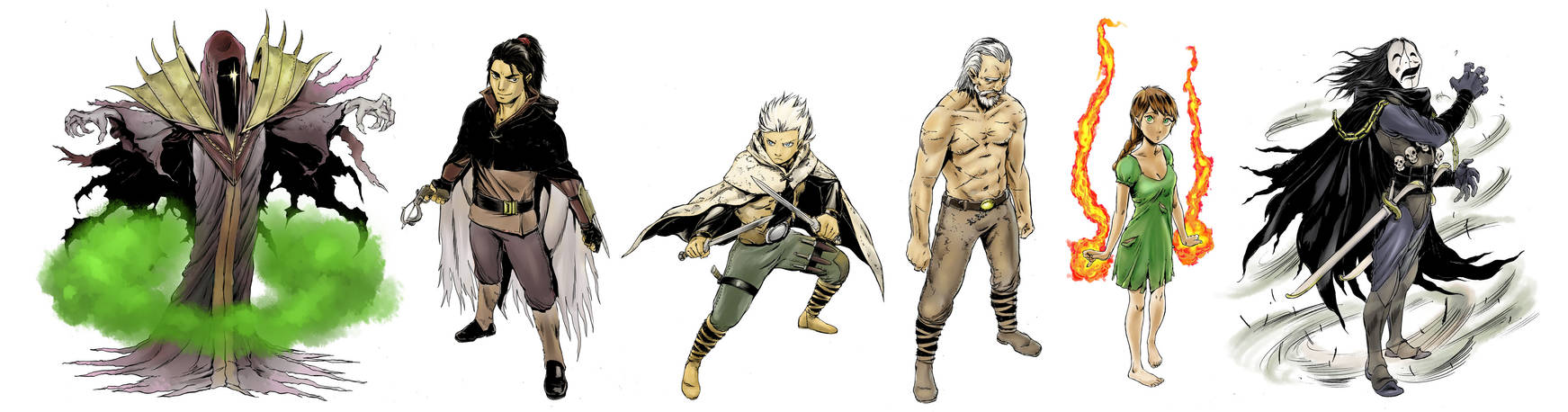 Mythos Main Characters