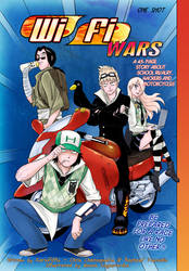 WiFi Wars Cover by Mangatellers