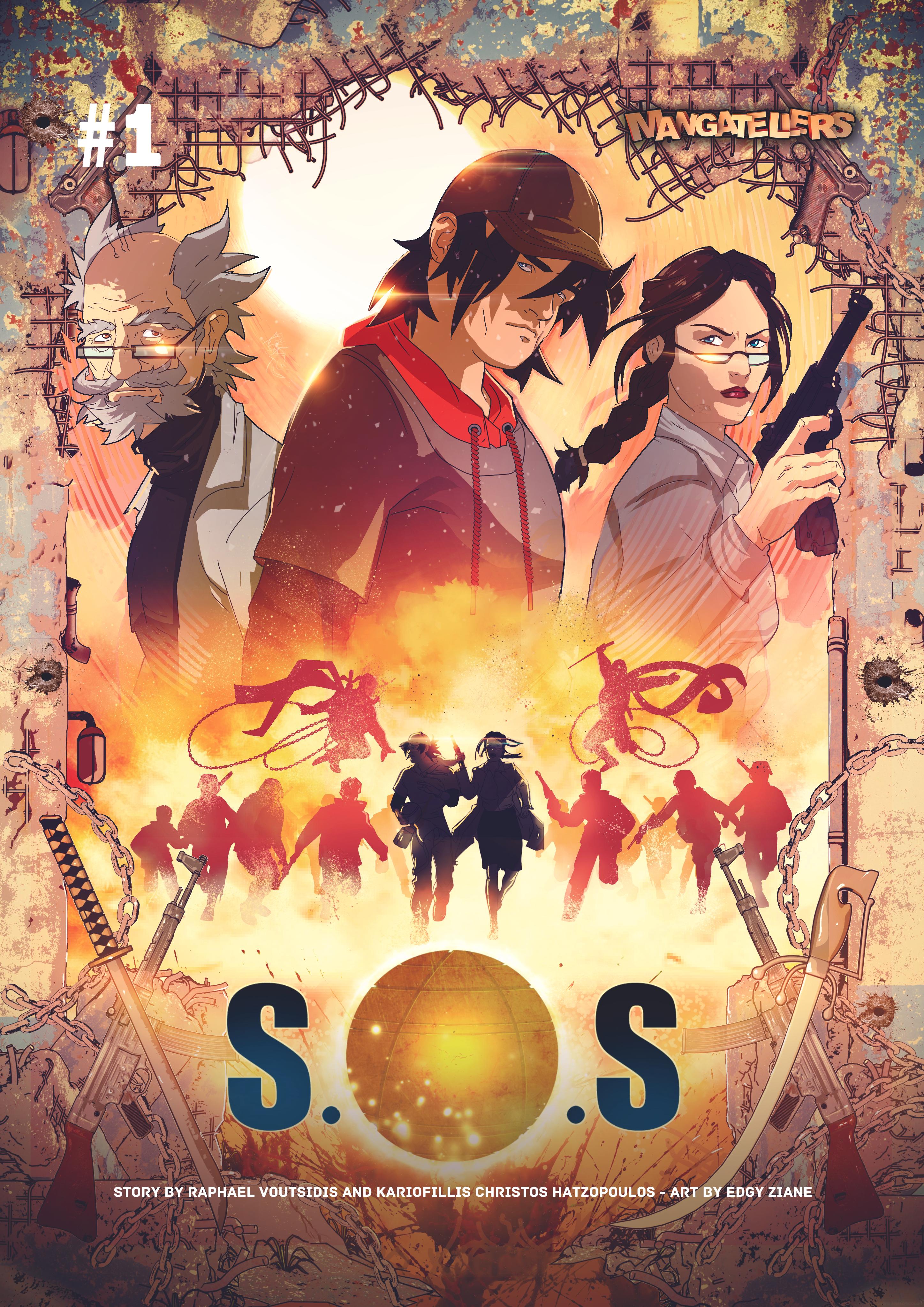 Sphere of Salvation Tankoubon Cover by Mangatellers