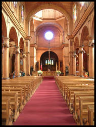 Inside of the Castro's church by ephedrina-photos