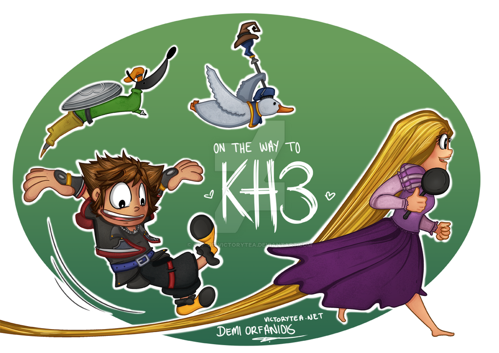 On the way to KH3 by Cup-of-VictoryTea