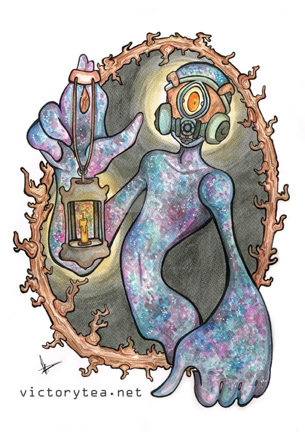 Cosmic flesh by Cup-of-VictoryTea