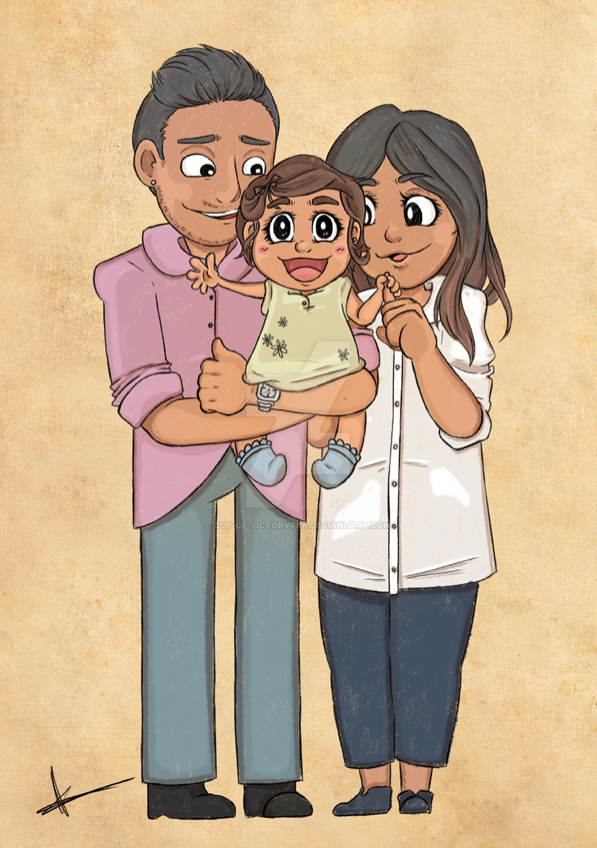 Happy Family by Cup-of-VictoryTea