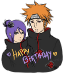 Happy B-Day Konan n' Yahiko