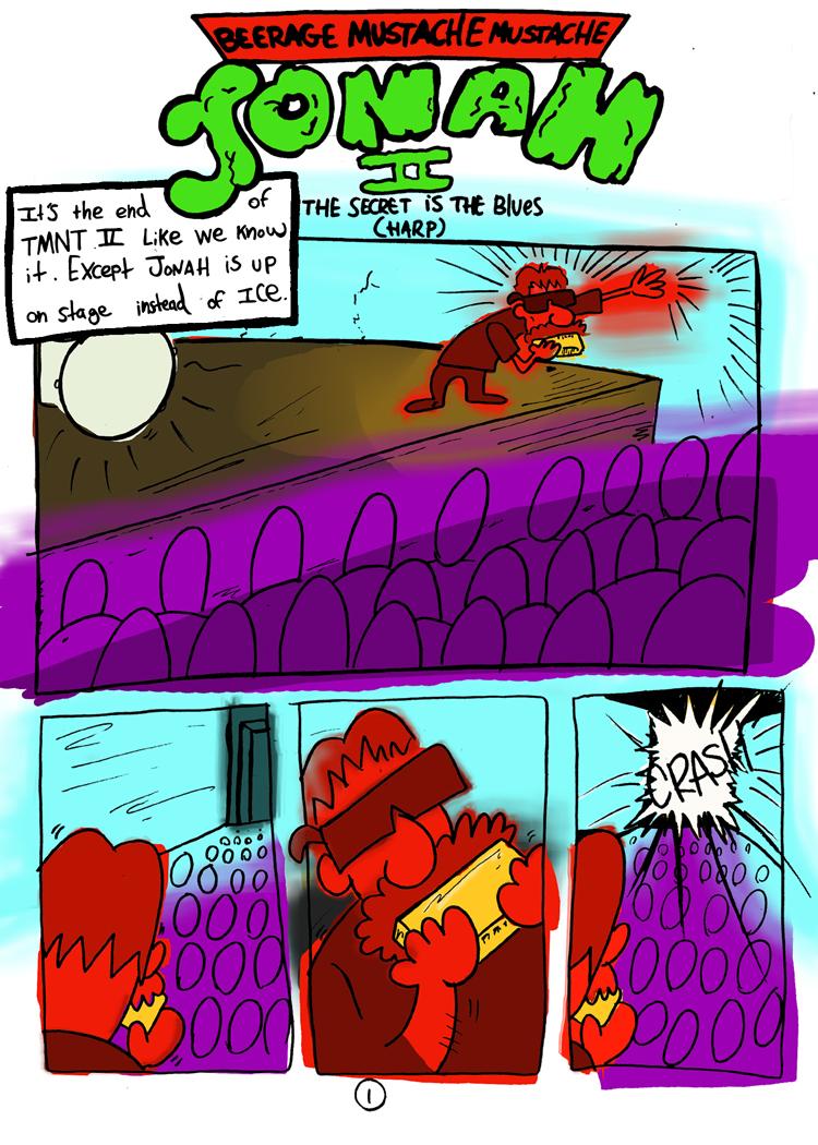 My Name is Jonah: FCBD #5 pg.1 by JBinks