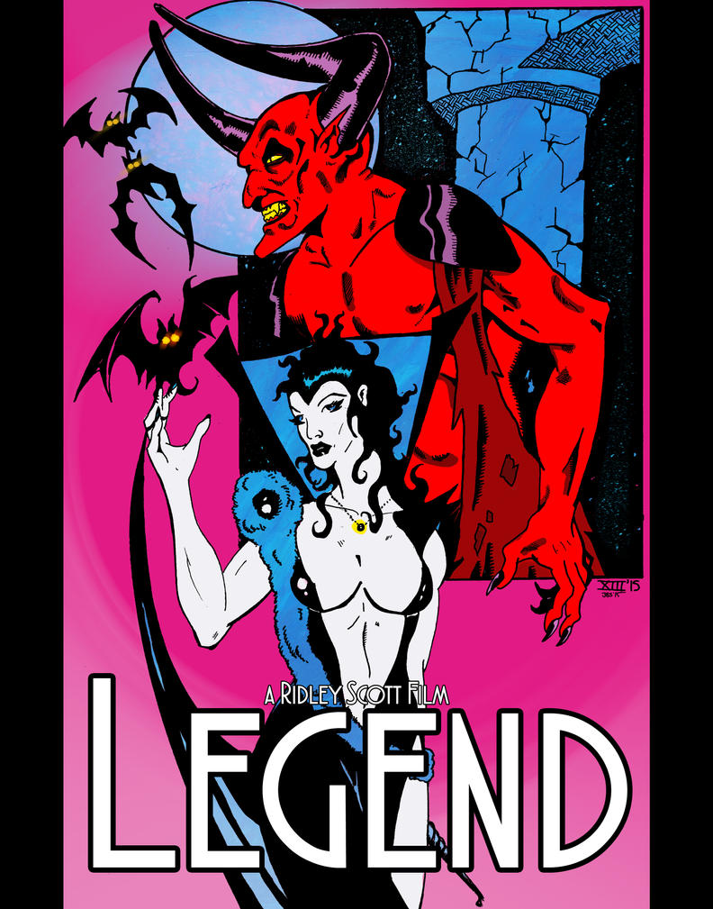 Legend poster art by JBinks