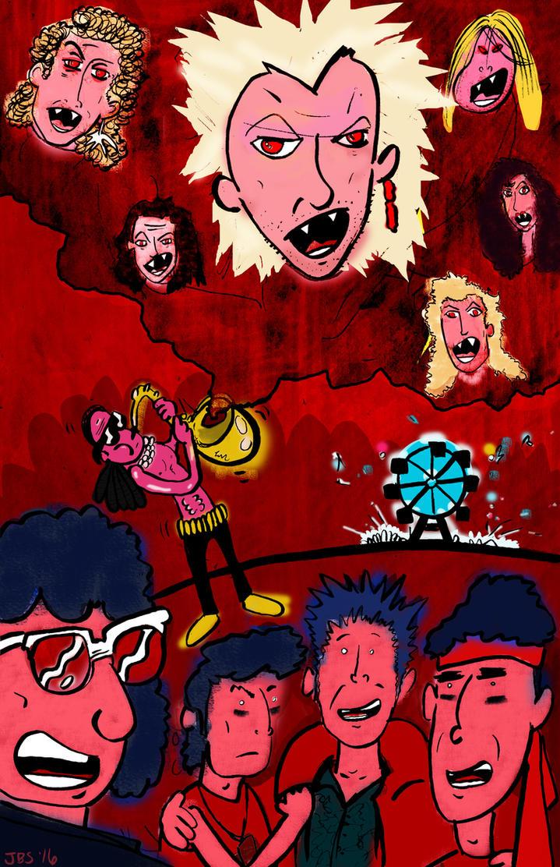 The Lost Boys promo art by JBinks