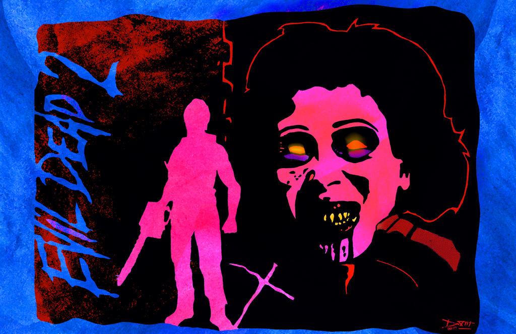 EVIL DEAD II by DANIEL XIII and JB by JBinks