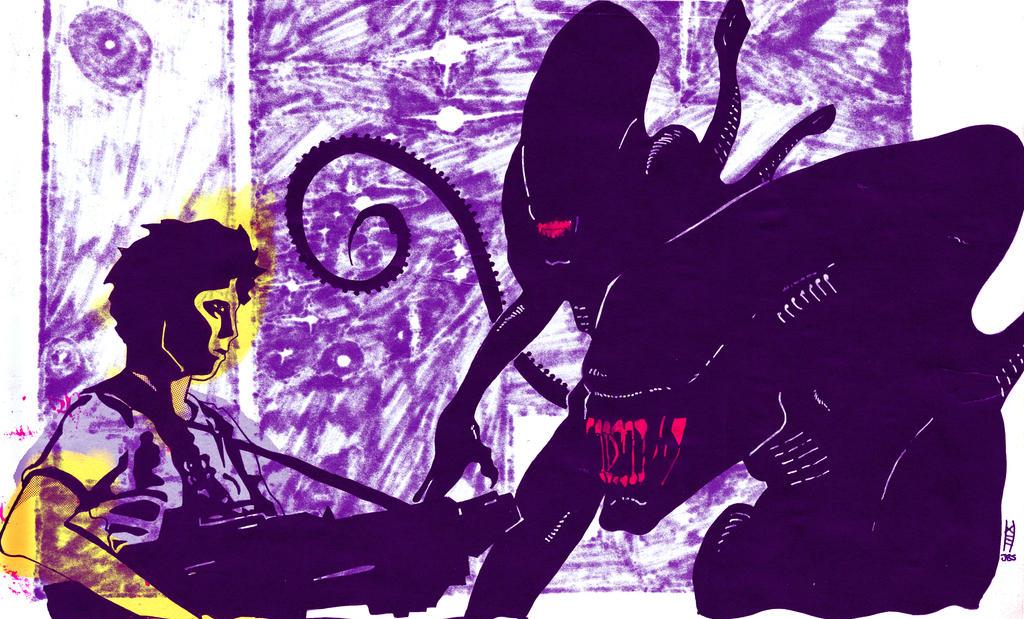 Alternate Color Job drawing by Daniel XIII by JBinks