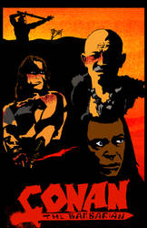 Conan Poster by JBinks