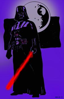 Darth Vader by Daniel XIII and JB