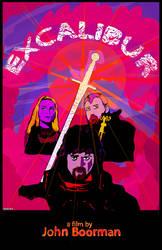 EXCALIBUR promo poster by JB  Dan XIII by JBinks