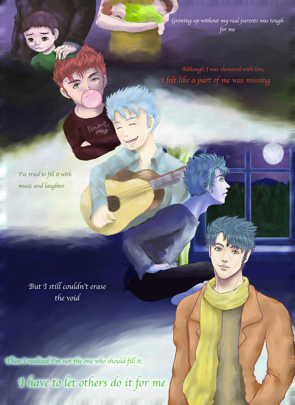 Teddy Lupin Growing Up by privee on DeviantArt  Teddy Lupin Gro...