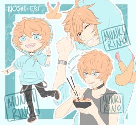 [Adoptable] Kioshi Ebi [CLOSED] by MunkisArt
