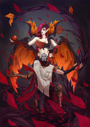 LoL - Jhin and Morgana
