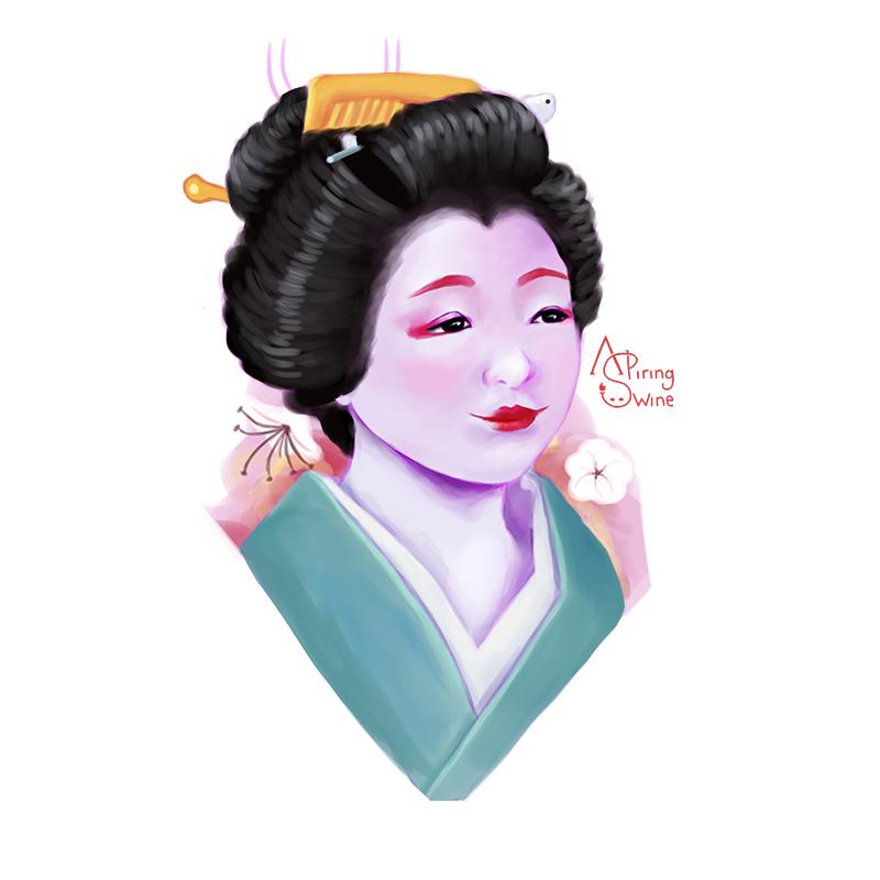 Geisha by aspiringswine