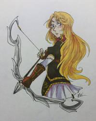 A-Z Fanart Challenge ~ Clarisse by Brianna-Ketsueki