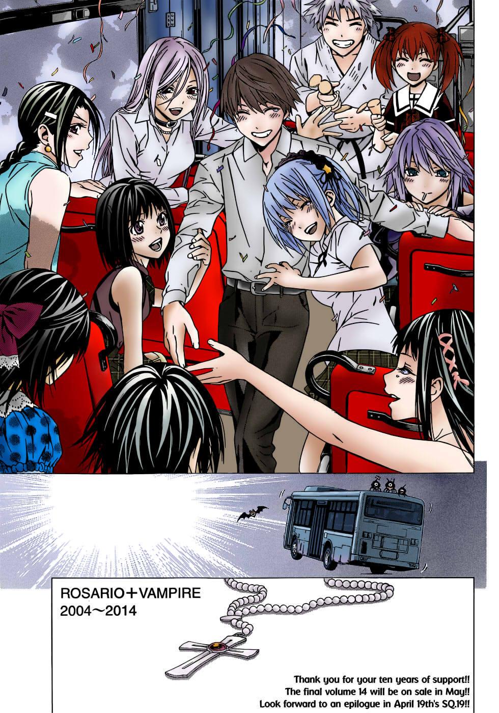 Anime De Rosario Vampire rosario+vampire- ending (manga)yellenatheblackwomen on