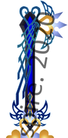Commission Keyblade - Ultima Weapon Connection